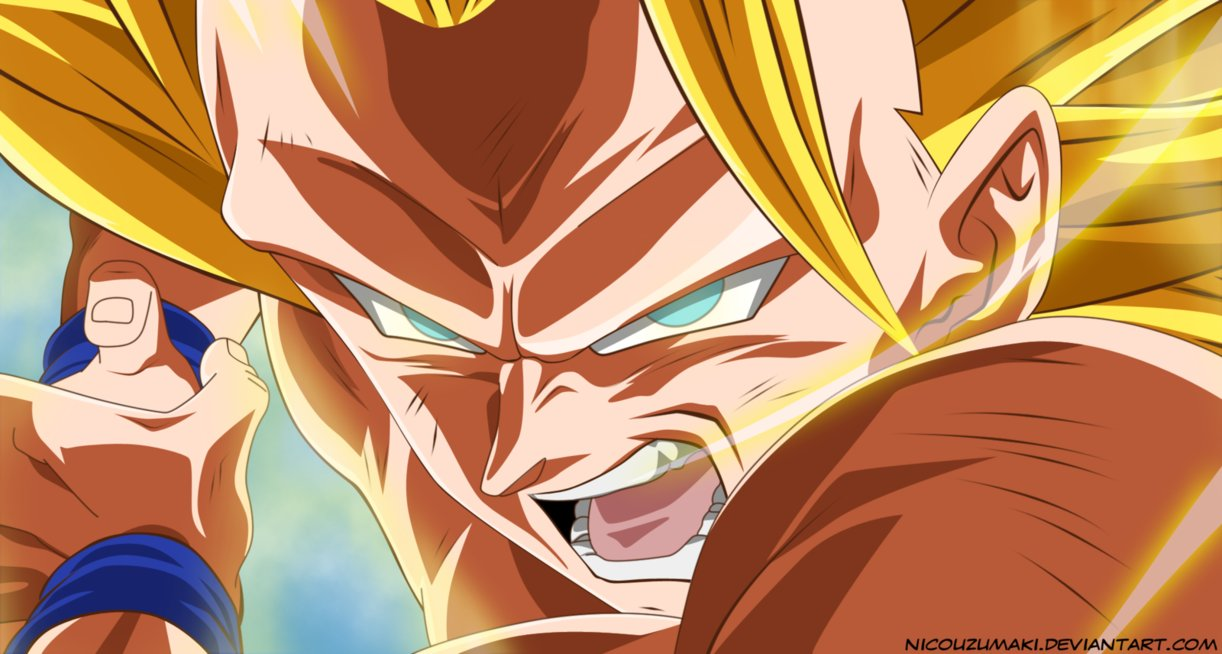 *Goku Super Saiyan 3*