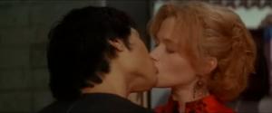 Bruce kisses Linda