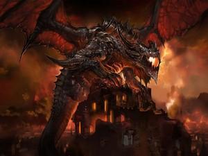 epic awesome dragon