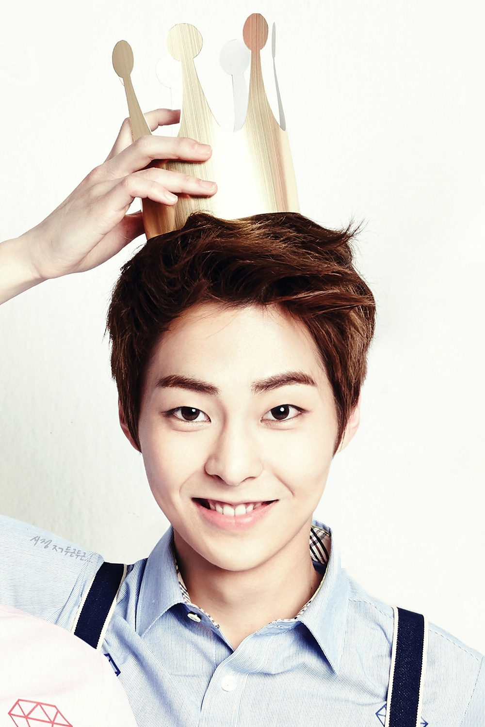 xiumin exo for ivy club magazine exom photo