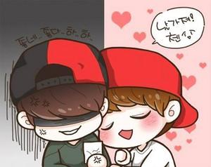 ~♥~♥~♥~Baekhyun and Chen~♥~♥~♥~