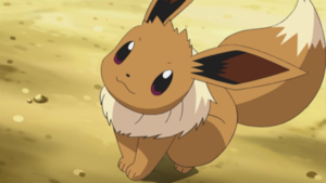 Eevee, the cutest Pokemon ever.