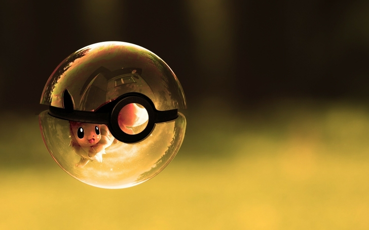 Eevees Guild Images Inside The Poke Ball Wallpaper And Background Photos