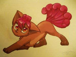 Cute Vulpix
