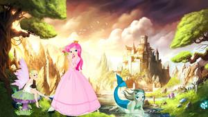 El mundo de las hadas, sirenas y una princesa llamada Lidia