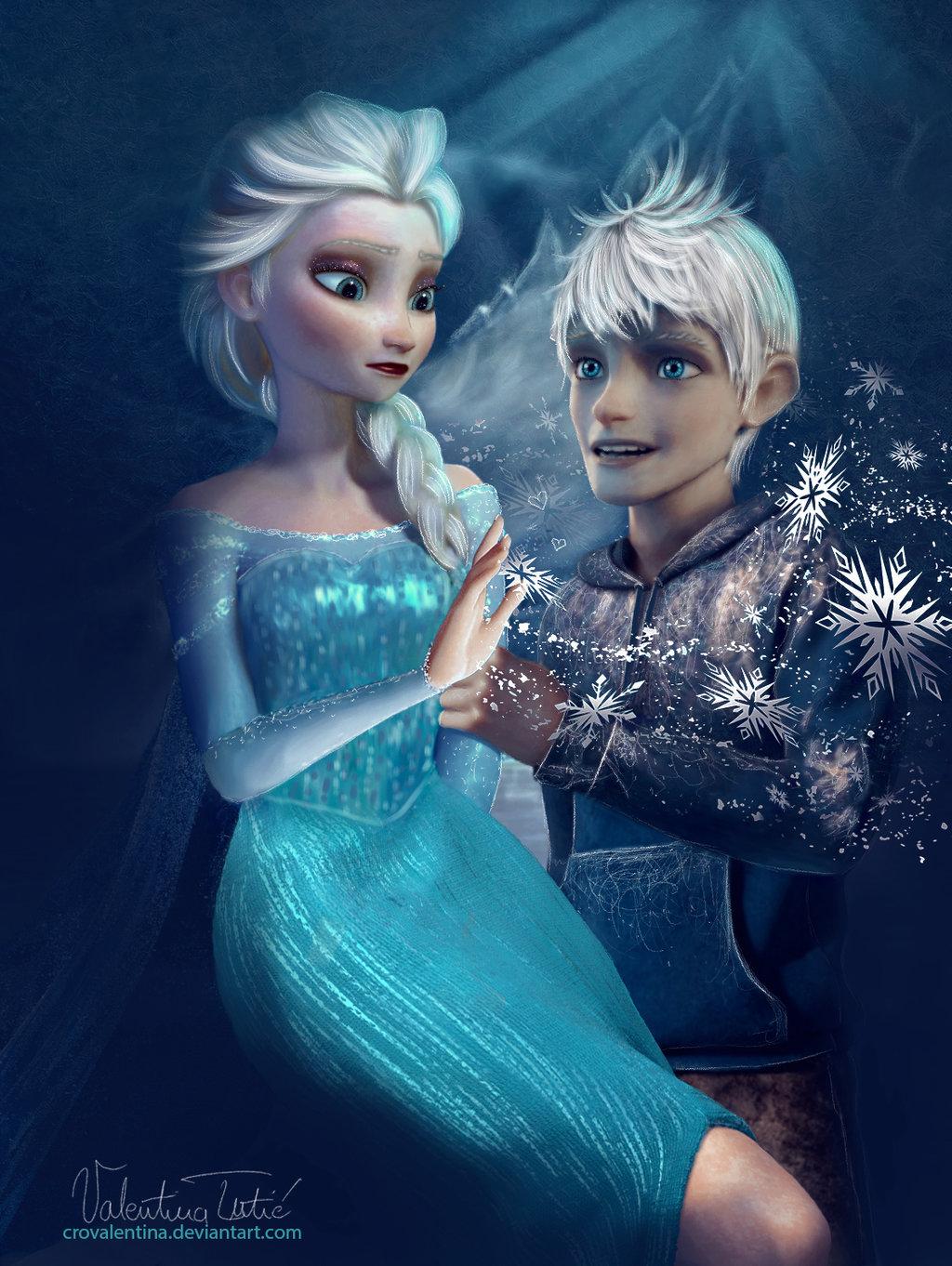 Frozen elsa and jack games online