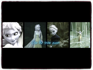 Elsa The Snow queen - Frozen