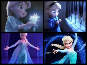 Elsa's childhood