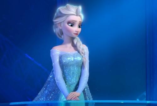 Elsa the Snow क्वीन वॉलपेपर titled Elsa the Snow क्वीन