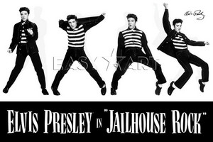 Elvis in Jailhouse Rock