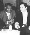 Elvis And Fats Domino - elvis-presley photo