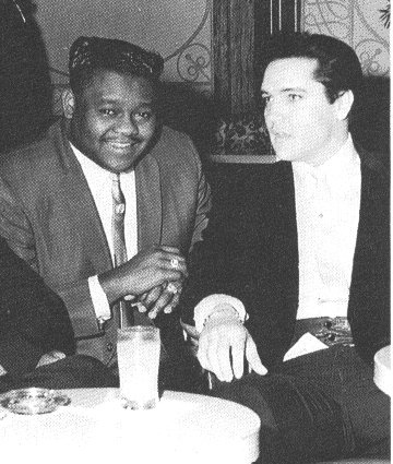 Elvis And Fats Domino