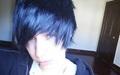 Emo Boy With Black Hair