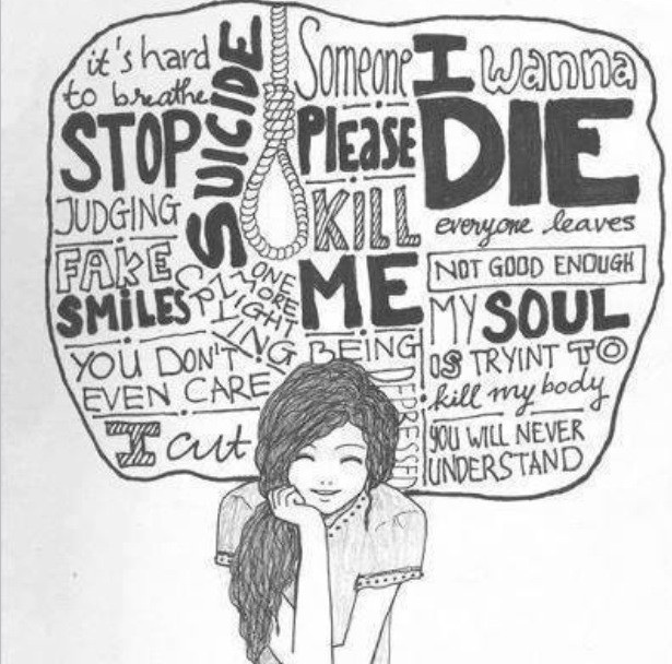 Emo Quotes About Suicide: Emo Poems Images The Sad Truths Wallpaper And Background