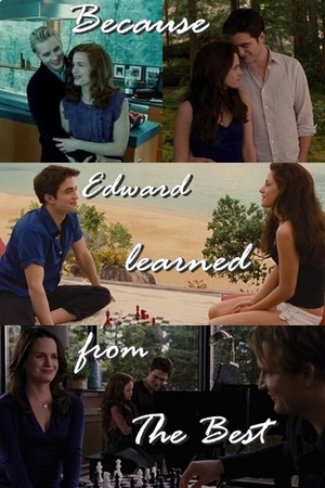 Because Edward Learned from The Best (Carlisle, of course XD)
