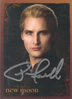 Carlisle's picture signed por Peter Facinelli.