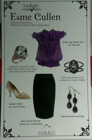 "Esme's ""Twilight"" outfit"