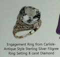 Engagement ring from Carlisle to Esme. ♥ - esme-and-carlisle-cullen photo