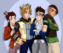 Ever after high boys