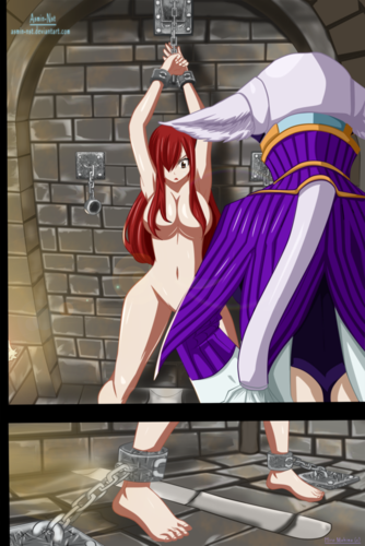 Fairy Tail wallpaper titled *Erza & Kyouka*