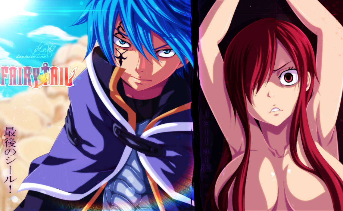 *Jellal & Erza* - Fairy Tail Photo (36362487) - Fanpop