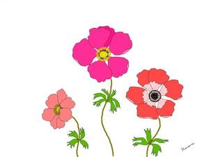 anemone paint