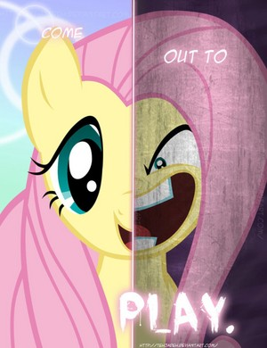 2 sides to fluttershy