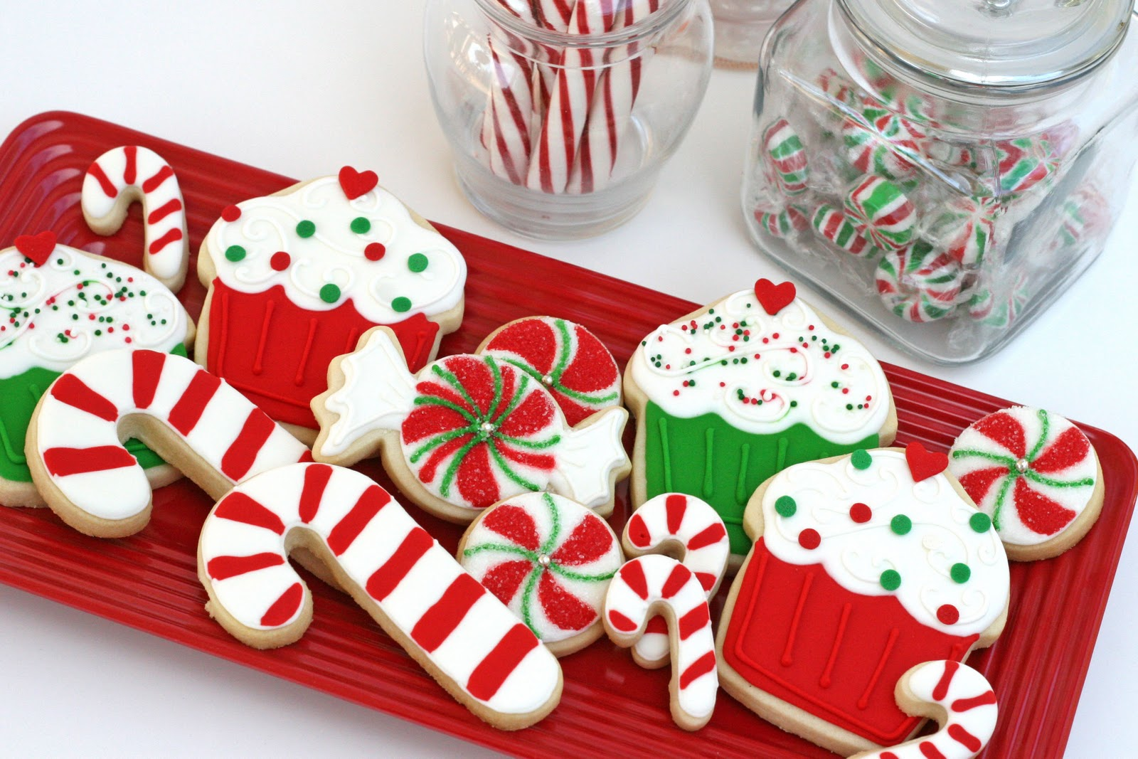 Christmas biscuits, cookies