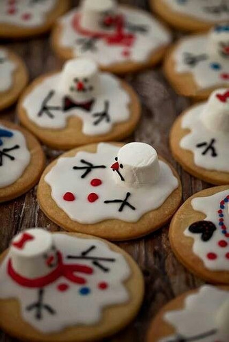 Food wallpaper titled Christmas Cookies