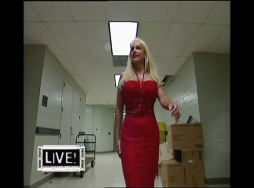 Former WWE Diva... Debra achtergrond possibly containing a cocktail dress, a avondeten, diner dress, and a strapless titled Debra - Raw 10th May 1999 - Part I