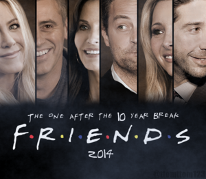 FRIENDS 2014 REUNION POSTER