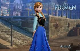 Anna the sister of Elsa