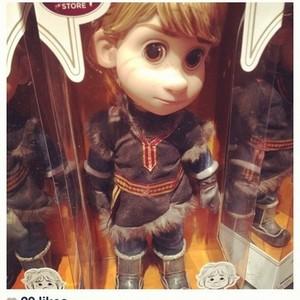 Kristoff Animator Doll