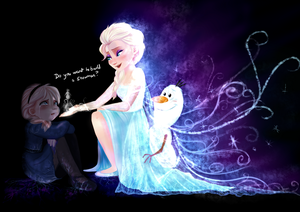 Do 당신 Want To Build A Snowman