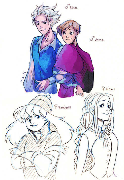 Gender Bender Disney Frozen