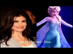 Elsa/ Idina Menzel