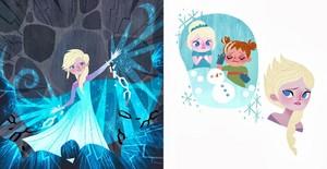 퀸 Elsa