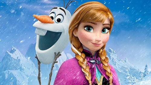 Frozen - Uma Aventura Congelante - Uma Aventura Congelante wallpaper titled Anna and Olaf