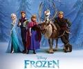 Disney La Reine des Neiges characters