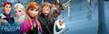 disney Frozen - Uma Aventura Congelante Banner