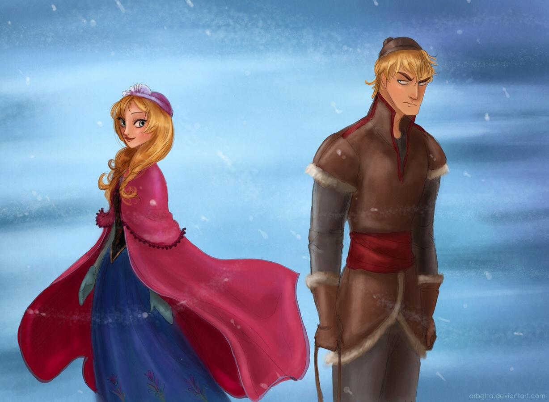 Frozen, Anna and Kristoff