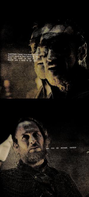 Beric Dondarrion & Thoros of Myr