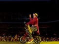 Lol on his kiddy bike cute - gary-barlow photo