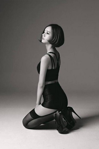 Girl's Day wallpaper with tights and a leotard called Hyeri's teaser photo for 'Something'!