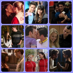 My favorito! glee Couples