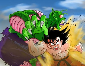 *Goku v/s King Piccolo*