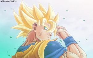 *Goku Super Saiyan*