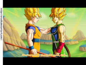 *Goku & Bardock*