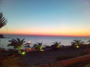 Sunset at Antiparos