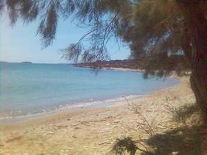 Antiparos, Psaraliki 바닷가, 비치